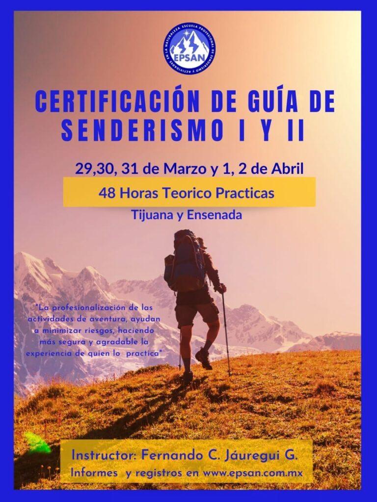 Certificación de guías de senderismo