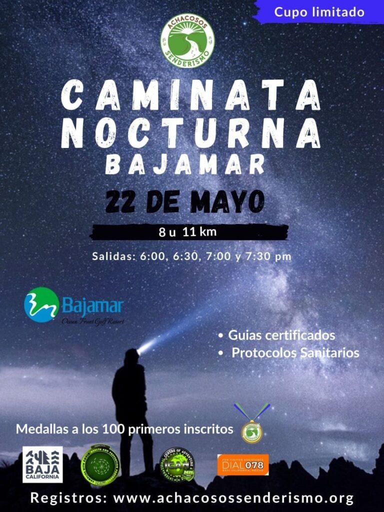 CAMINATA NOCTURNA EN BAMAJAR 22 DE MAYO